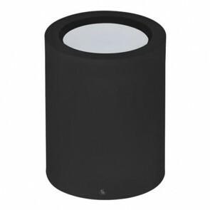 LED Downlight - Opbouw Rond Hoog XL 10W - Natuurlijk Wit 4200K - Mat Zwart Aluminium - Ø140mm