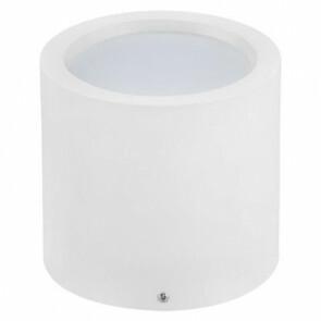 LED Downlight - Opbouw Rond Hoog XL 15W - Natuurlijk Wit 4200K - Mat Wit Aluminium - Ø180mm