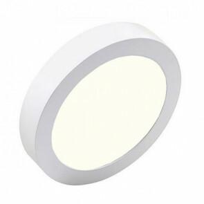 LED Downlight Pro - Aigi - Opbouw Rond 20W - Natuurlijk Wit 4000K - Mat Wit Aluminium - Ø247mm