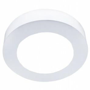 LED Downlight Slim Pro - Aigi Strilo - Opbouw Rond 6W - Helder/Koud Wit 6000K - Mat Wit - Kunststof