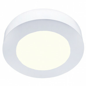 LED Downlight Slim Pro - Aigi Strilo - Opbouw Rond 6W - Natuurlijk Wit 4000K - Mat Wit - Kunststof