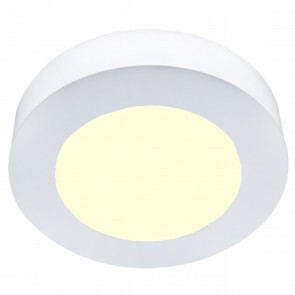 LED Downlight Slim Pro - Aigi Strilo - Opbouw Rond 6W - Warm Wit 3000K - Mat Wit - Kunststof