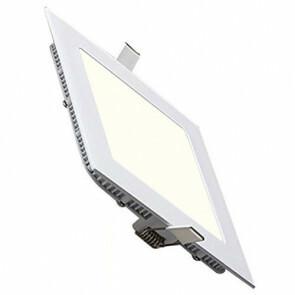 LED Spot / LED Downlight / LED Paneel Set BSE Slim Vierkant Inbouw 15W 4200K Natuurlijk Wit 195mm Spatwaterdicht