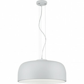LED Hanglamp - Trion Barnon - E27 Fitting - 4-lichts - Rond - Mat Wit Aluminium