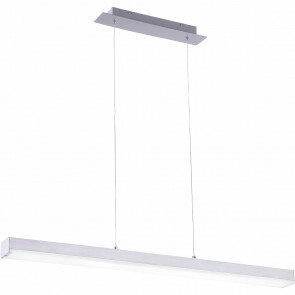 LED Hanglamp WiZ - Hangverlichting - Trion Lavar - 20W - Aanpasbare Kleur - RGBW - Rechthoek - Mat Nikkel - Aluminium