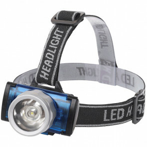 LED Hoofdlamp - Aigi Scylo - Waterdicht - 50 Meter - Kantelbaar - 1 LED - 1.6W - Zwart | Vervangt 7W