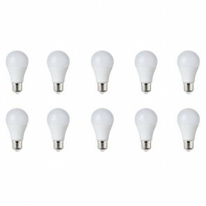 LED Lamp 10 Pack - E27 Fitting - 10W Dimbaar - Helder/Koud Wit 6400K