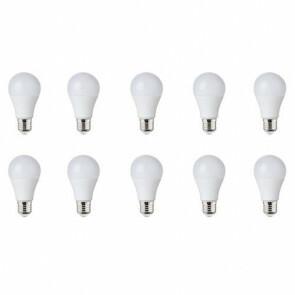 LED Lamp 10 Pack - E27 Fitting - 10W Dimbaar - Natuurlijk Wit 4200K
