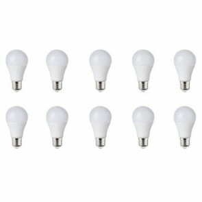 LED Lamp 10 Pack - E27 Fitting - 8W - Helder/Koud Wit 6400K