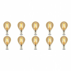 LED Lamp 10 Pack - Facto - Filament Bulb - E14 Fitting - 4W - Warm Wit 2700K