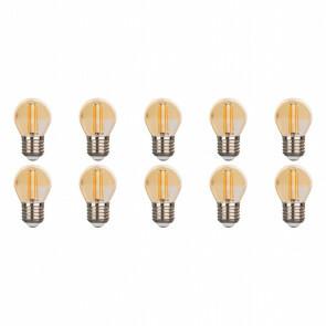 LED Lamp 10 Pack - Facto - Filament Bulb - E27 Fitting - 4W - Warm Wit 2700K