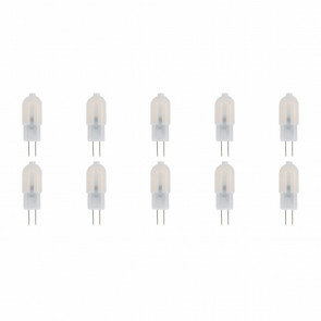 LED Lamp 10 Pack - Aigi - G4 Fitting - 1.5W - Helder/Koud Wit 6500K | Vervangt 15W