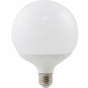 LED Lamp - Aigi Lido - Bulb G120 - E27 Fitting - 20W - Helder/Koud Wit 6400K - Wit