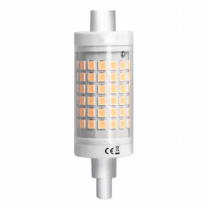 LED Lamp - Aigi - R7S Fitting - 7W - Warm Wit 3000K