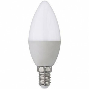 LED Lamp - E14 Fitting - 4W - Helder/Koud Wit 6400K