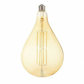 LED Lamp - Design Globe - Torade - E27 Fitting - Amber - 8W - Warm Wit 2200K
