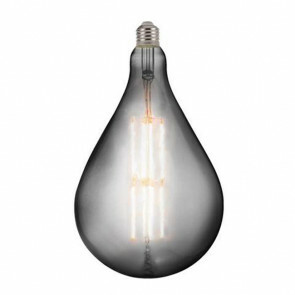 LED Lamp - Design Globe - Torade - E27 Fitting - Titanium - 8W - Warm Wit 2400K