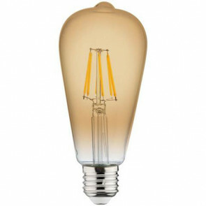 LED Lamp - Filament Rustiek - Vita - E27 Fitting - 6W - Warm Wit 2200K