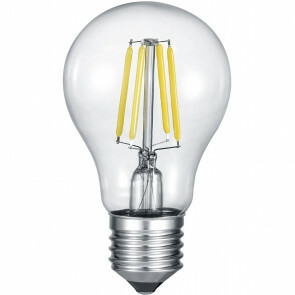 LED Lamp - Filament - Trion Limpo - E27 Fitting - 8W - Warm Wit 2700K - Transparent Helder - Glas