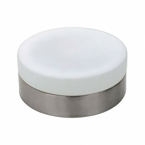 LED Lamp - Opbouw Rond - E27 - Mat Chroom Aluminium - Ø180mm