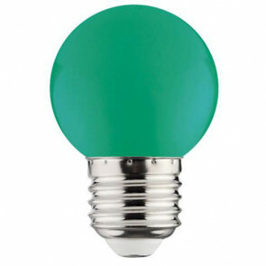 LED Lamp - Romba - Groen Gekleurd - E27 Fitting - 1W