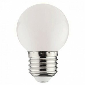 LED Lamp - Romba - Wit Gekleurd - E27 Fitting - 1W