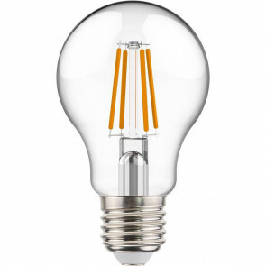 LED Lamp - Sanola Yvoni - Filament - E27 Fitting - 4W - Warm Wit 2700K - Transparent Helder - Glas