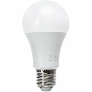 LED Lamp - Smart LED - Aigi Exona - Bulb A60 - 9W - E27 Fitting - Slimme LED - Wifi LED - Aanpasbare Kleur - Mat Wit - Glas