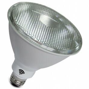 LED Lamp - Smart LED - Facto Sponty - PAR Lamp - 12W - E27 Fitting - Slimme LED - Wifi LED - Dimbaar - Aanpasbare Kleur - RGB+CCT - Waterdicht