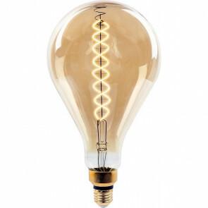 LED Lamp - Viron Uranim - Filament A165 - E27 Fitting - Dimbaar - 8W - Warm Wit 2000K - Amber