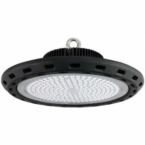 LED Magazijnverlichting / Highbay UFO Waterdicht 200W 6400K Helder/Koud Rond 385x190mm Aluminium IP65