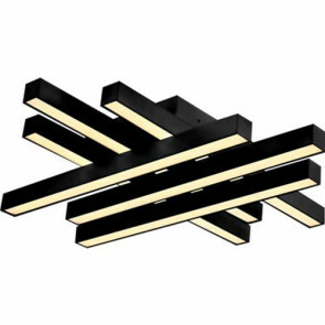 LED Modern Design Plafondlamp / Plafondverlichting Trendy 50W Natuurlijk Wit 4000K Aluminium Zwarte Armatuur