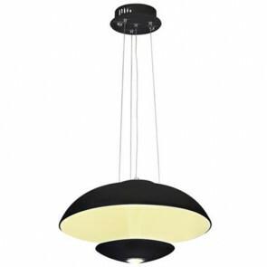 LED Modern Design Plafondlamp / Plafondverlichting Viesta 24W Natuurlijk Wit 4000K Aluminium Zwarte Armatuur
