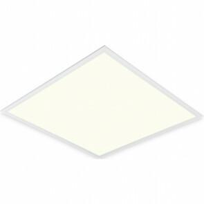 LED Paneel - 60x60 Natuurlijk Wit 4200K - 45W Inbouw Vierkant - Mat Wit - Flikkervrij