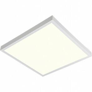 LED Paneel - 60x60 Natuurlijk Wit 4200K - 45W Opbouw Vierkant - Mat Wit - Flikkervrij