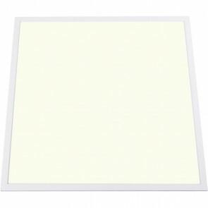 LED Paneel - Aigi - 60x60 Natuurlijk Wit 4000K - 50W Inbouw Rechthoek - Mat Wit - Aluminium