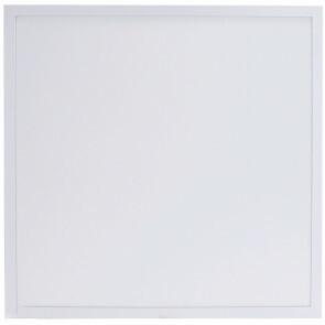 LED Paneel - Aigi Hyron - 62x62 - Aanpasbare Kleur CCT - 32W - Inbouw - Vierkant - Mat Wit - Aluminium - Flikkervrij