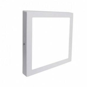 LED Spot / LED Downlight / LED Paneel Set BSE Slim Vierkant Opbouw 18W 6000K Helder/Koud Wit 225mm Spatwaterdicht