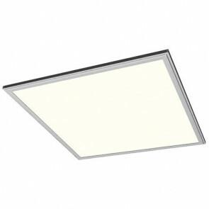 LED Paneel Systeemplafond Set BSE Vierkant 50W 4200K Natuurlijk Wit 60x60cm Zilver Armatuur