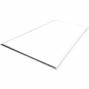 LED Paneel - Viron Ganto - 120x60 Helder/Koud Wit 6400K - 45W Inbouw Rechthoek - Mat Wit - Aluminium