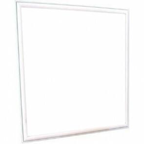 LED Paneel - Viron Ganto - 60x60 Helder/Koud Wit 6400K - 45W Inbouw Vierkant - Mat Wit - Aluminium