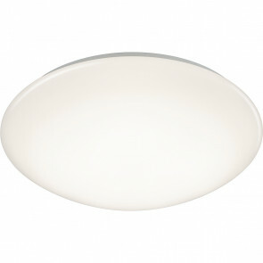 LED Plafondlamp met Bewegingssensor - Trion Poly - Opbouw Rond 18W - Spatwaterdicht IP44 - Warm Wit 3000K - 360° - Mat Wit