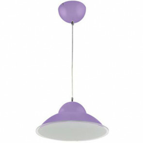 LED Plafondlamp - Plafondverlichting - Anta - 15W - Natuurlijk Wit 4000K - Paars Aluminium