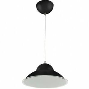 LED Plafondlamp - Plafondverlichting - Anta - 15W - Natuurlijk Wit 4000K - Zwart Aluminium