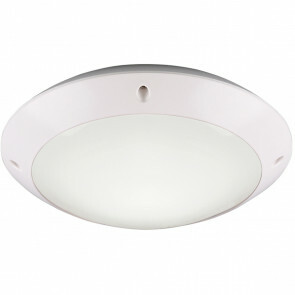 LED Plafondlamp - Trion Camiro - Opbouw Rond - Waterdicht IP54 - E27 Fitting - Mat Wit - Kunststof