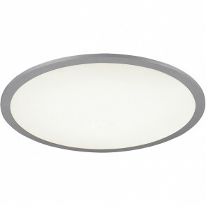 LED Plafondlamp WiZ - Trion Alineon - Slimme LED - Dimbaar - Aanpasbare Kleur - 22W - Mat Titaan - Rond