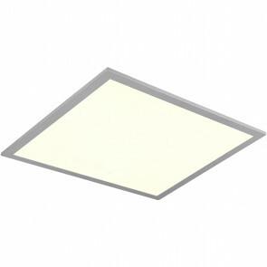 LED Plafondlamp WiZ - Trion Alineon - Slimme LED - Dimbaar - Aanpasbare Kleur - 22W - Mat Titaan - Vierkant