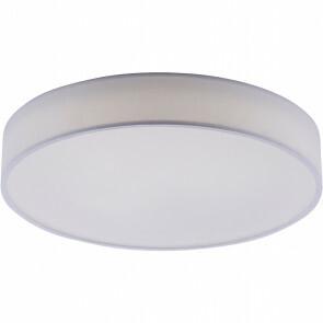 LED Plafondlamp WiZ - Trion Ditro - 45W - Aanpasbare Kleur - Dimbaar - Afstandsbediening - Rond - Mat Wit - Aluminium
