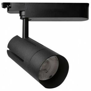 LED Railverlichting - Track Spot - Facto - 30W 1 Fase - Rond - Aanpasbare Kleur - Mat Zwart Aluminium