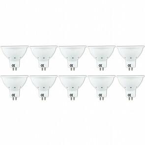 LED Spot 10 Pack - Aigi Firona - GU5.3 MR16 Fitting - 3W - Warm Wit 3000K - 12V